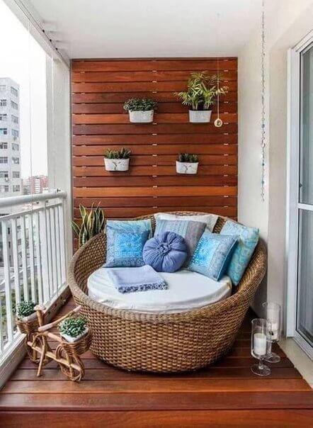 Идея дизайна для балкона